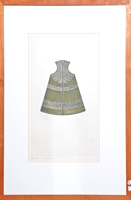 Chinese Robe Framed Print, Signed and Numbered