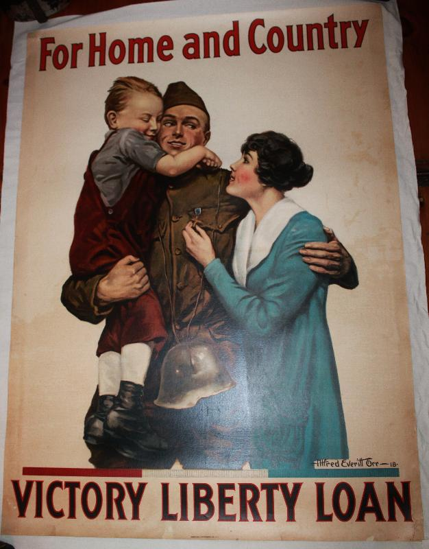 WWI Victory Liberty Loan Poster