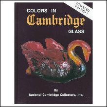 Colors in Cambridge Glass
