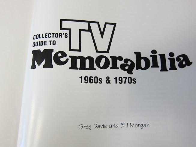 Collector's Guide to TV Memorabilia 1960s & 1970s: Identification and Values