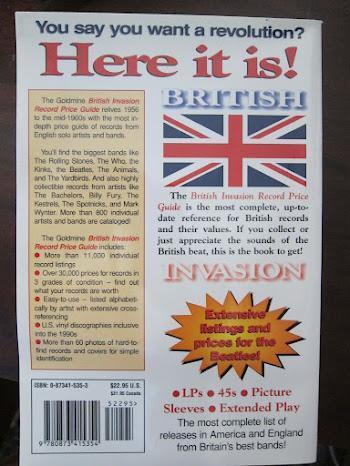 Goldmine British Invasion Record Price Guide