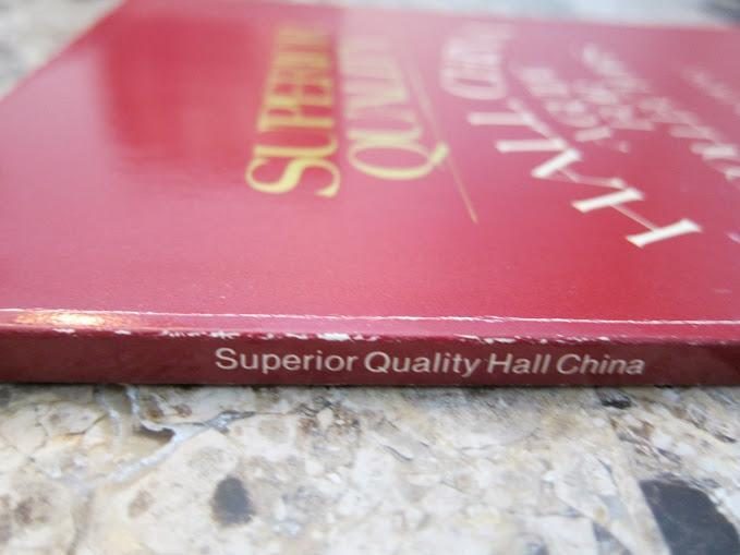 Superior Quality Hall China - A Guide for Collectors