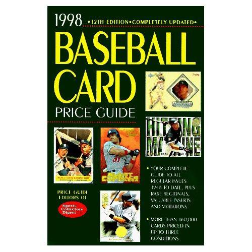 1998 Baseball Card Price Guide 12th Edition