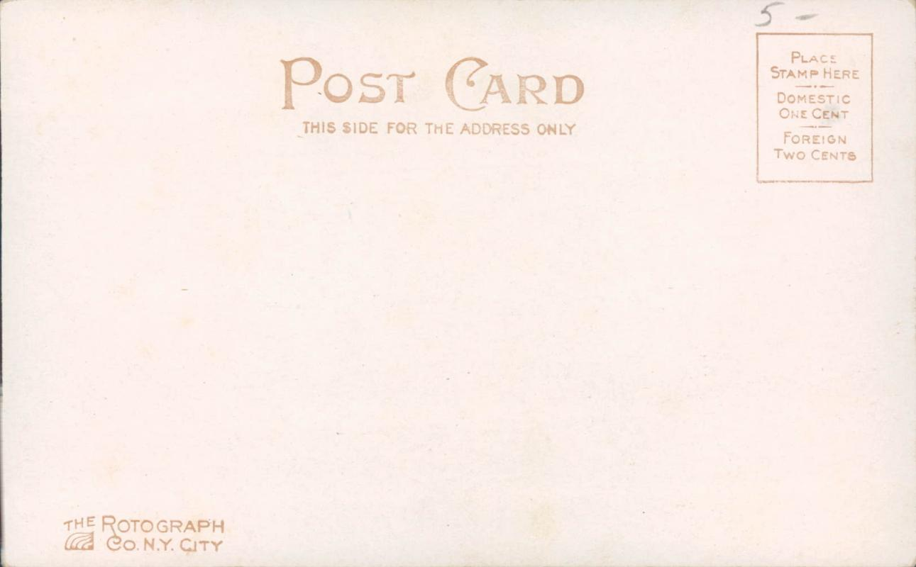 Gassaway antique postcard, 1906  Rotograph Co (2 years) FL 118