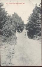 Brooklyn Postcard Company Lover's Leap Baily Island Maine Postcard 1917 #5973