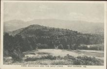 Kebo Mountain & golf Links Bar Harbor Maine Photo Postcard Albertype