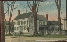 Harriet Beecher Stow House Brunswick ME Postcard