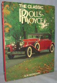 BOOK - THE CLASSIC ROLLS ROYCE