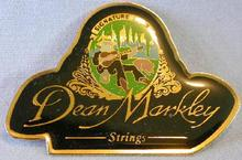 DEAN MARKLEY STRINGS - LARGE COLLECTIBLE LAPEL PIN