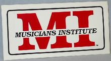 COLLECTIBLE STICKER - MUSICIANS INSTITUTE