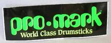 COLLECTIBLE STICKER - PRO-MARK DRUM STICKS