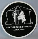 TWO COLLECTIBLE STICKERS - GUITAR STRINGS