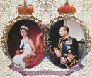 COLLECTIBLE TRAY - QUEEN ELIZABETH'S 25th JUBILEE