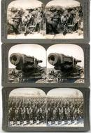 WORLD WAR I STEREO VIEWS - SET OF THREE