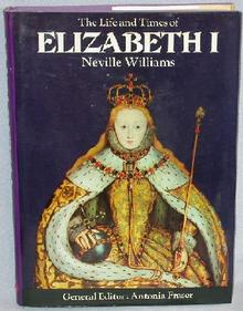 BOOK - LIFE & TIMES OF ELIZABETH I