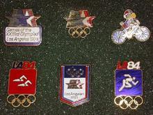 1984 LOS ANGELES OLYMPIC PIN SET