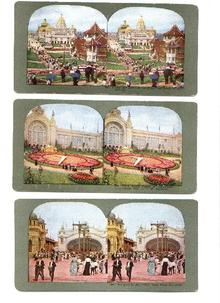3 Stereo Views of the St. Louis Exposition