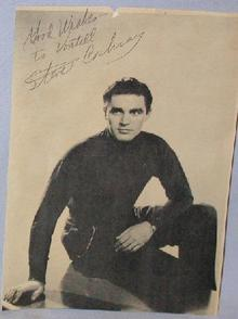 AUTOGRAPH OF ACTOR