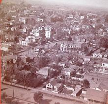 GREAT STEREOVIEW OF 1880s SACRAMENTO