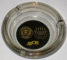 COLLECTIBLE ADVERTISING ASHTRAY FROM