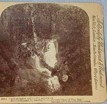 STEREOVIEW - WOMAN BY WATERFALL
