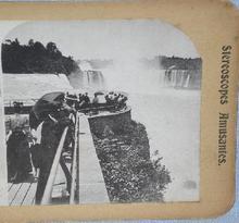 STEREOVIEW -   NIAGRA FALLS