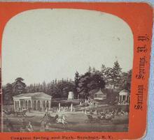 STEREOVIEW -   CONGRESS SPRINGS & PARK