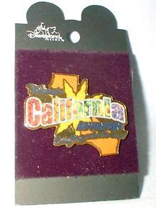 DISNEY'S CALIFORNIA ADVENTURE  - COLORFUL PIN