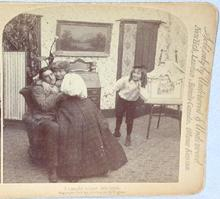 STEREOVIEW -  SNEAKING UP ON SISTER