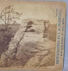 STEREOVIEW - WISCONSIN RIVER