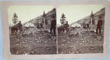 GREAT STEREOVIEW -  PROSPECTORS