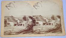 GREAT STEREOVIEW -  COUNTRY VILLAGE IN IRELAND