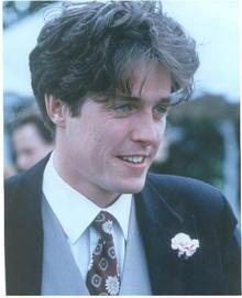 GREAT COLOR PHOTO OF HUGH GRANT