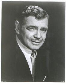 GREAT CLOSE UP PHOTO OF CLARK GABLE