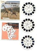 VIEWMASTER REEL SET - WILD ANIMALS OF AFRICA