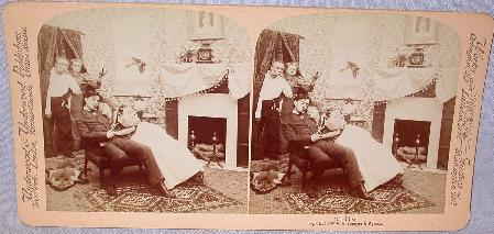 TWO GREAT COMICAL STEREOVIEWS -