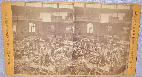 GENTILE STEREOVIEW OF THE CHICAGO EXPOSITION