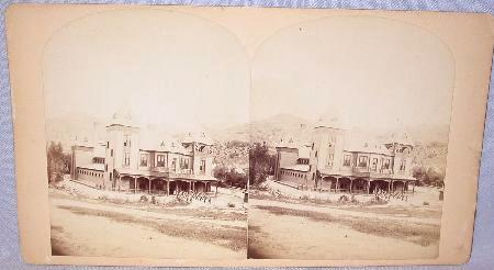 GREAT STEREOVIEW  -  INN AT THE CANYON