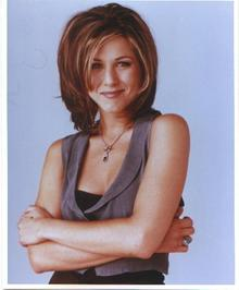 COLOR  PHOTO OF FRIENDS - JENNIFER ANISTON