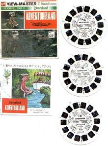 ADVENTURELAND - VIEWMASTER REEL SET