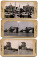 STEREOVIEWS - SET OF THREE OF EUROPE
