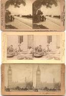 THREE STEREO VIEWS
