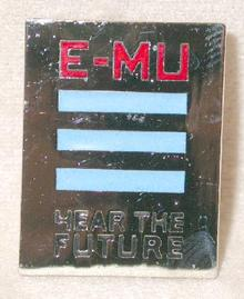 E-MU KEYBOARDS - COLLECTIBLE LAPEL PIN