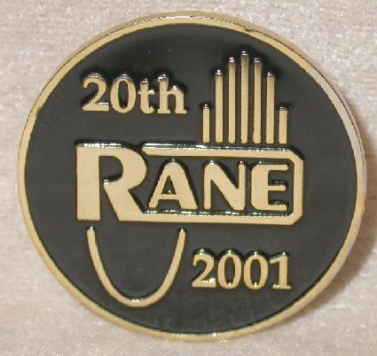 RANE AUDIO - COLLECTIBLE LAPEL PIN