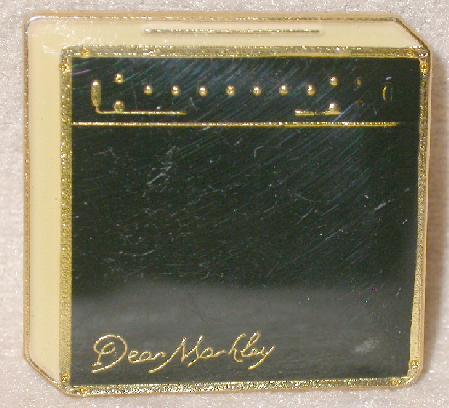 DEAN MARKLEY AMPLIFIER  - COLLECTIBLE LAPEL PIN