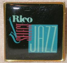 RICO REEDS  - COLLECTIBLE LAPEL PIN