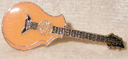 GUITAR   - COLLECTIBLE LAPEL PIN
