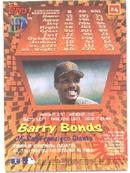 BARRY BONDS - 2002 MVP - 3D BASEBALL CARD!!