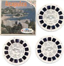 ACAPULCO - VIEWMASTER 3 REEL SET