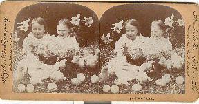 STEREOVIEW -  DAWN OF EASTER